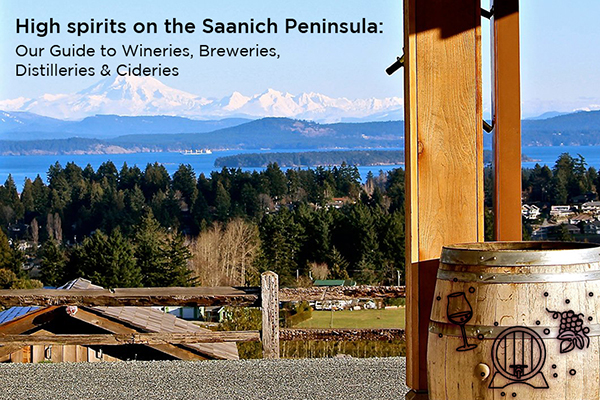 Rolling Pastures Framed By Ocean And Mountain Views Make A Self Guided Tour Of The Saanich Peninsula Wineries Cideries And Distilleries A Must For Any